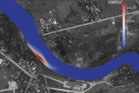 Ujęcie wody Czyżkówko – modelowanie rozprzestrzeniania zanieczyszczeń